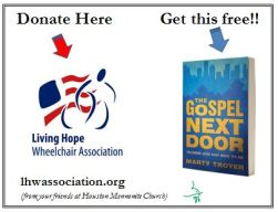 giveaway living hope charity